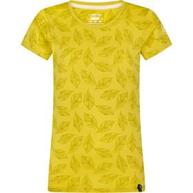 La Sportiva Imprint T-Shirt Dames, geel